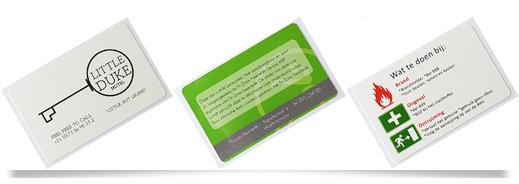 RFID kaarten bedrukt