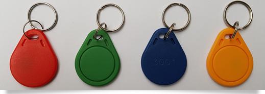 RFID sleutelhangers bedrukt